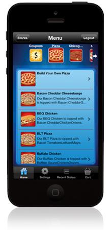 Uncle Andy's Pizza Detroit Mobile App