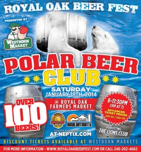 royal oak beer fest polar beer club january 2014