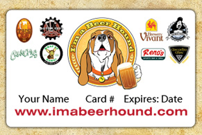 I'm A Beer Hound Membership Card Michigan Breweries