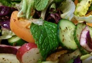 Mandaloun Bistro Fattoush Salad