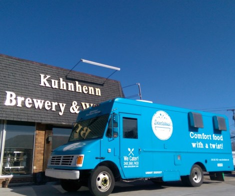 Kuhnhenn Brewery Delectabowl food truck Detroit Michigan