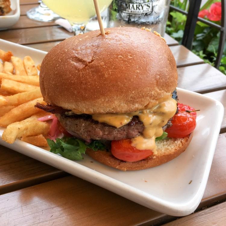 Ale Mary's Royal Oak Beer Cheese Burger
