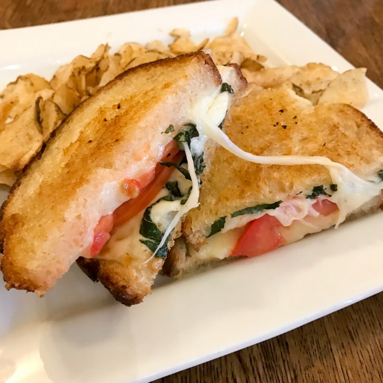 Cafe Muse Royal Oak Grilled Cheese Sandwich
