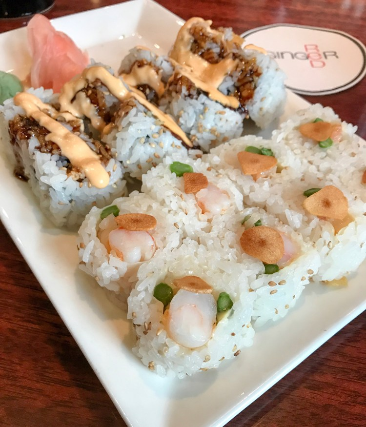 Red Ginger Sushi Traverse City Michigan