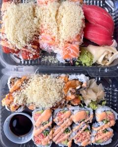 California Roll Sushi Woodward Ave Birmingham Michigan