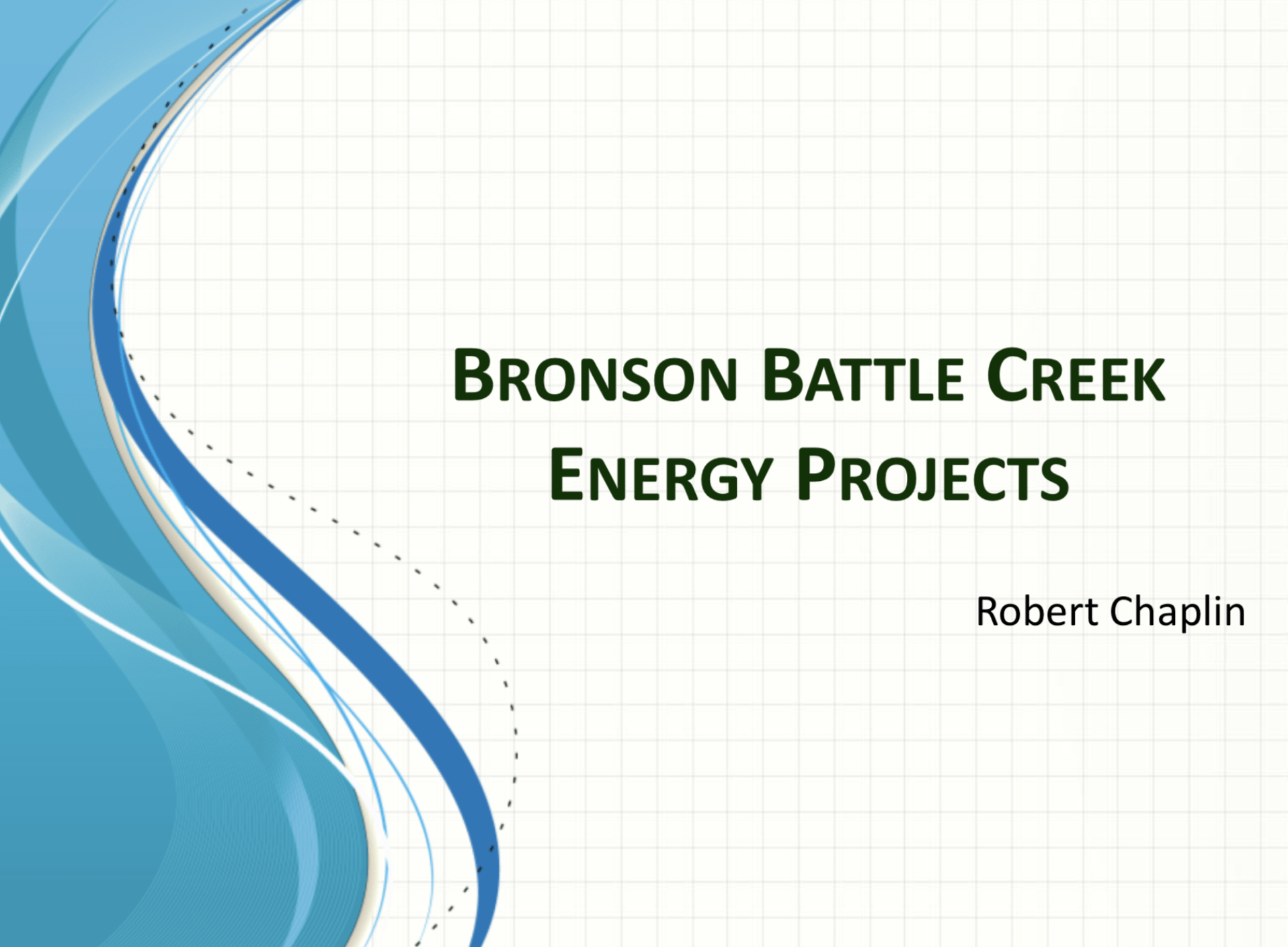 Bronson Battle Creek Energy Projects