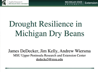 Drought Resilience in Michigan Thumbnail