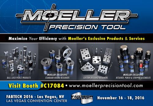 Moeller Precision Tool Print Ad Design by Michigan Business Designs