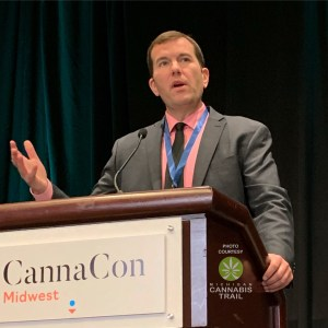 Michigan Marijuana Regulatory Agency Director Andrew Brisbo