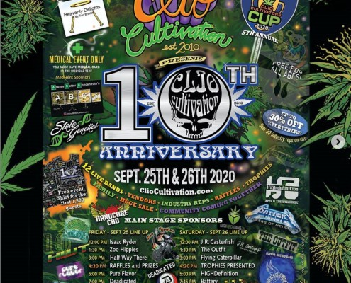 Clio Cultivation 10th Anniversary