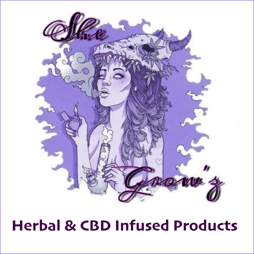 She Grows - Herbal & CBD Infused Products