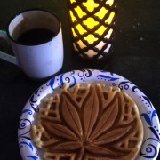 Marijuana Waffles Manistee Farms CannaVentures Bud & Breakfast