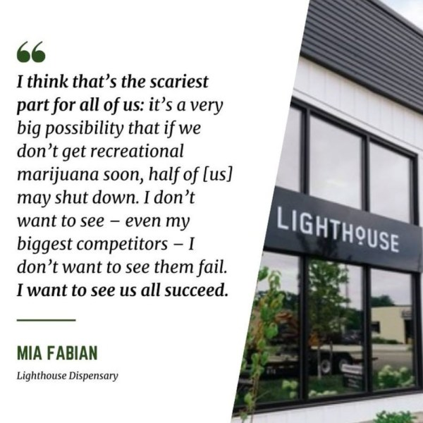 Lighthouse Dispensary Mia Fabian
