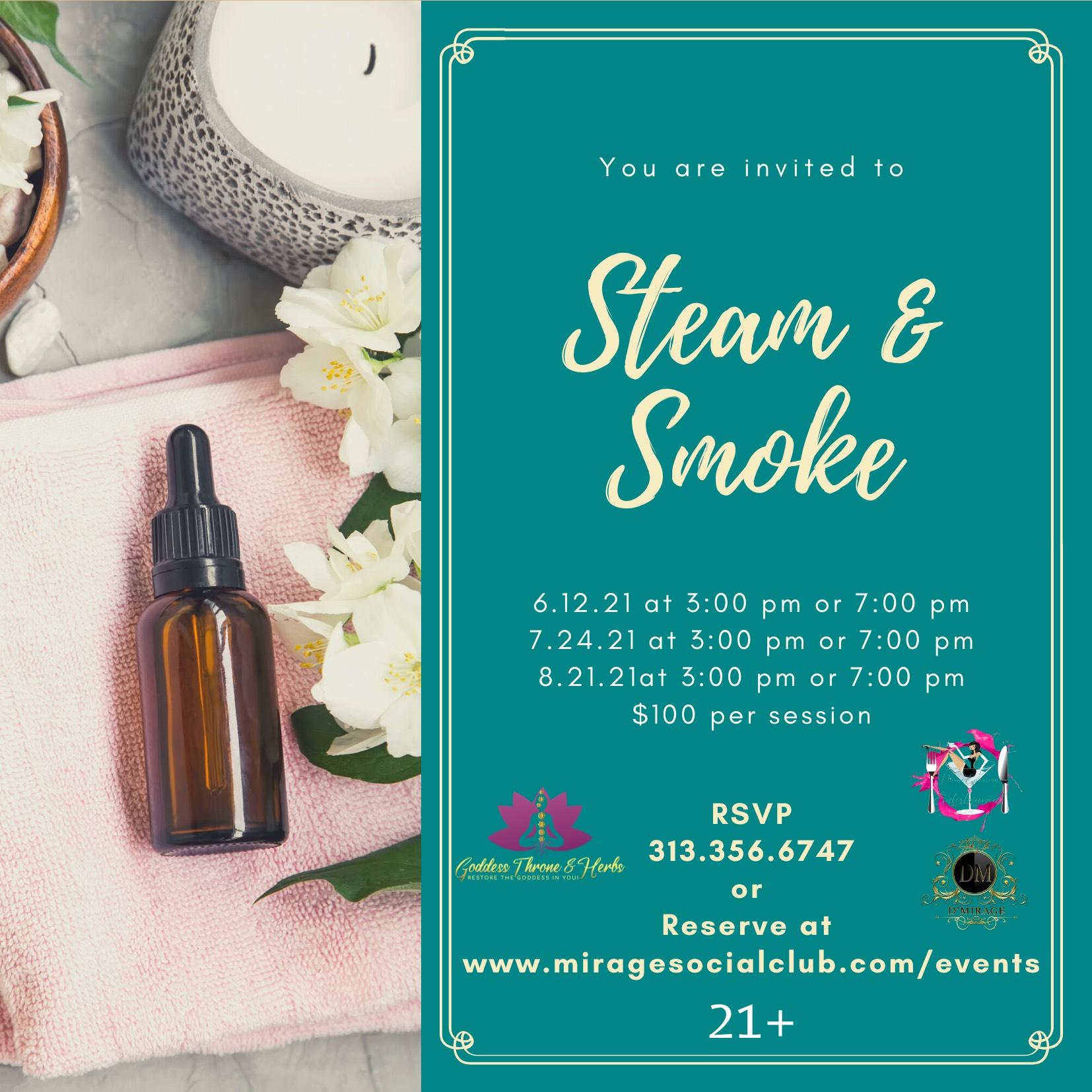dMirageSteam & Smoke