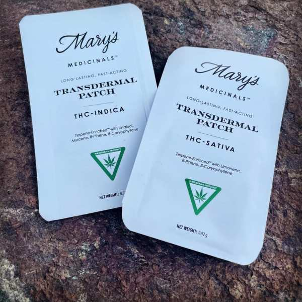 Mary's Medicinals Transdermal Patches at Flow Provisioning
