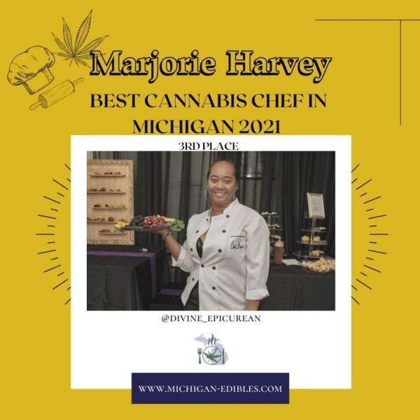 Marjorie Harvey Best Cannabis Chef in Michigan