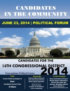Candidates in the Community Packet-14th Congressional District