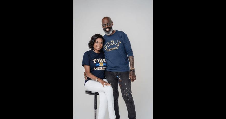 Black Power Couple Make Their Debut at HBCU