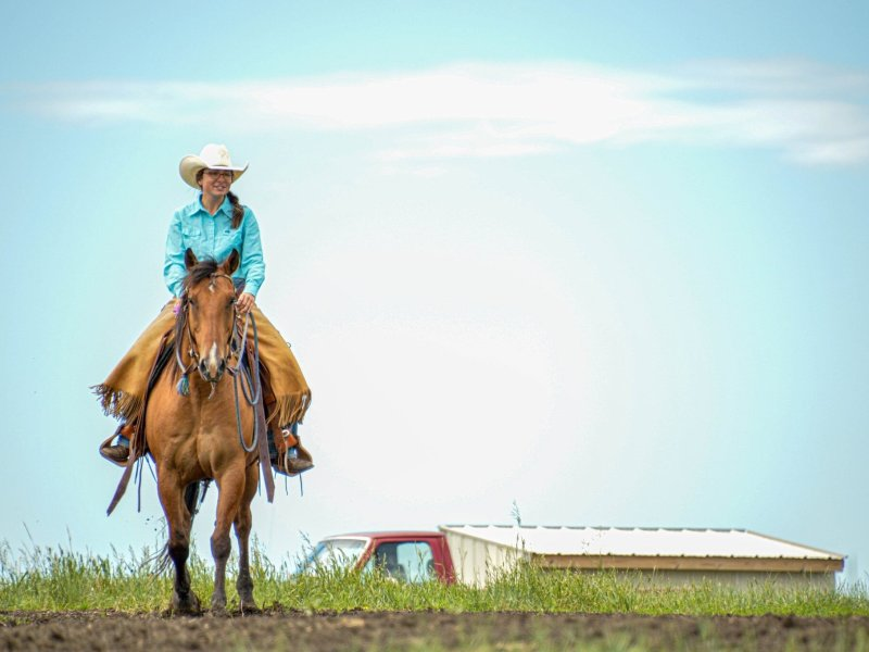 Lakota Rancher Strengthens Community with Agriculture Education