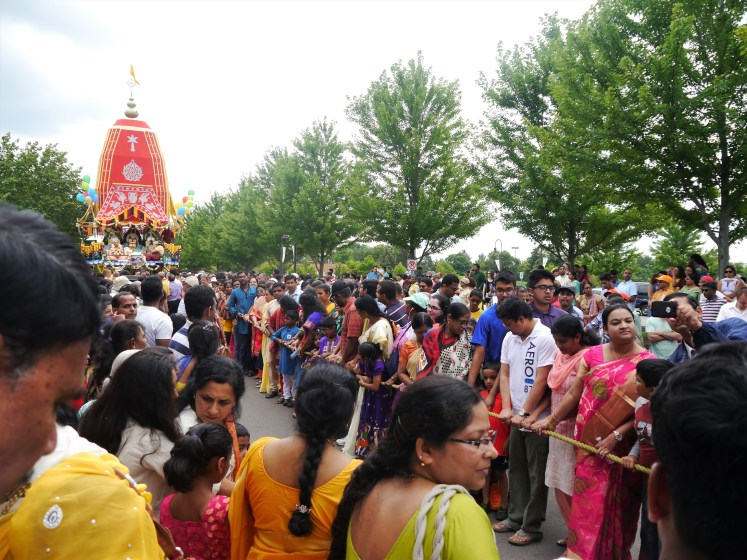 pulling the chariot festival of chariots