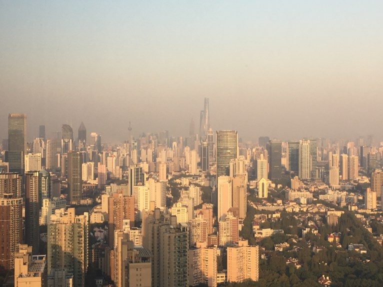 Looking East Towards Pudong