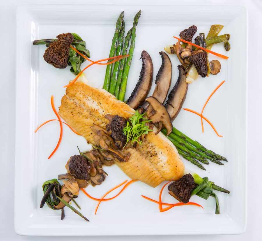 Iron Skillet-Seared Whitefish Recipe - Aerie Restaurant