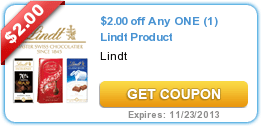 New (Lindt + Crayola + HORMEL + Softsoap) Coupons