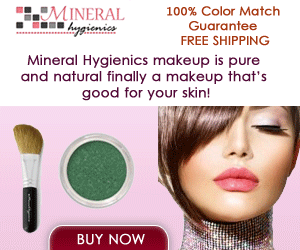 100% All Natural Mineral Makeup
