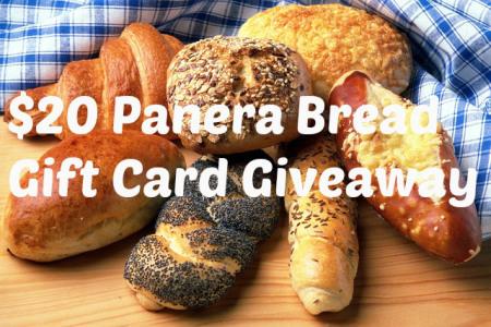 Panera Bread $20 Stocking Stuffer Gift Card {Giveaway}