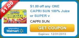 Coupons (Capri-Sun + Planters + Twix) & Offers 11/7