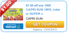 Coupons (Capri-Sun + Planters + Twix) & Offers 11/7