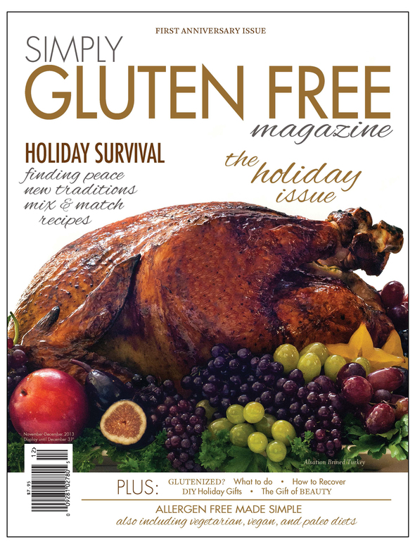 "Simply Gluten Free magazine wins ""Hottest launches of the year"" award by Min"