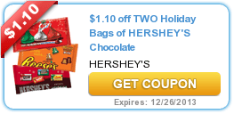 New Coupons & Offers (Glade + Dove + Hershey's) 11/20
