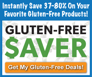 New Deals on Gluten Free Products Ends 12/23