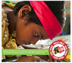 Whole Foods Market and the Miracle Foundation Team up to Change the Lives of Children in India