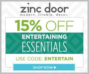 Zinc Door: 15% Off Entertaining Essentials