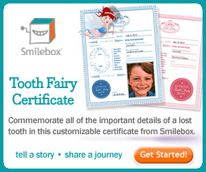 Tooth Fairy Certificate by Smilebox