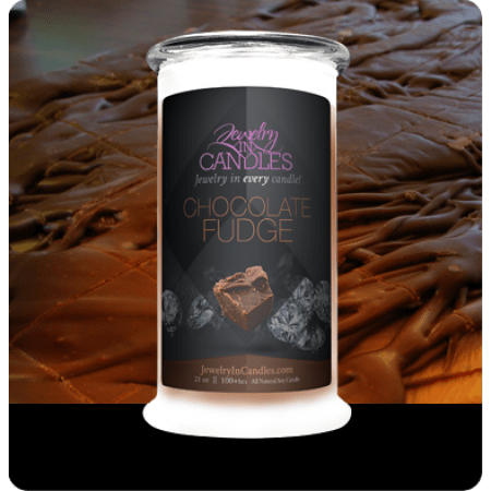 Chocolate Fudge Candle for Valentine's Day