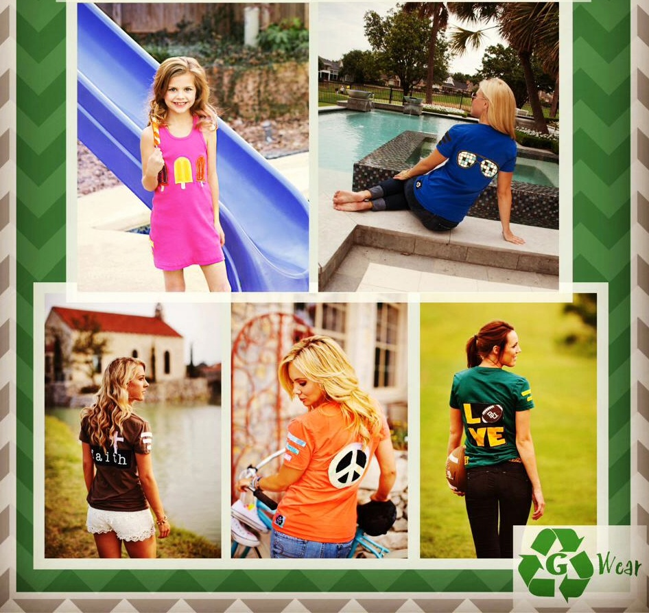 Moms and Kids Both Stylish in Eco-Friendly G Wear T-Shirts – The Perfect Fit for Earth Day Layouts
