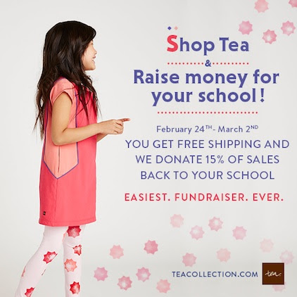 Tea Collection's Spring School Days Fundraiser