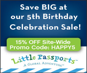 Little Passports 5th Birthday Wish is for You to get 15% Off!