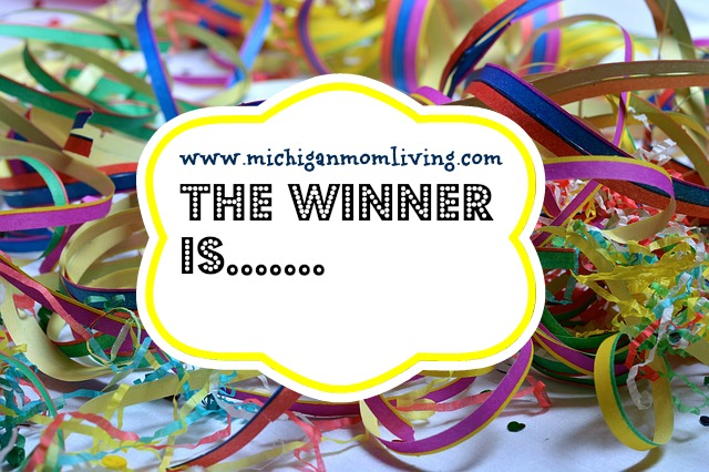 And the Winner of the Original Loom Boom Giveaway is…..