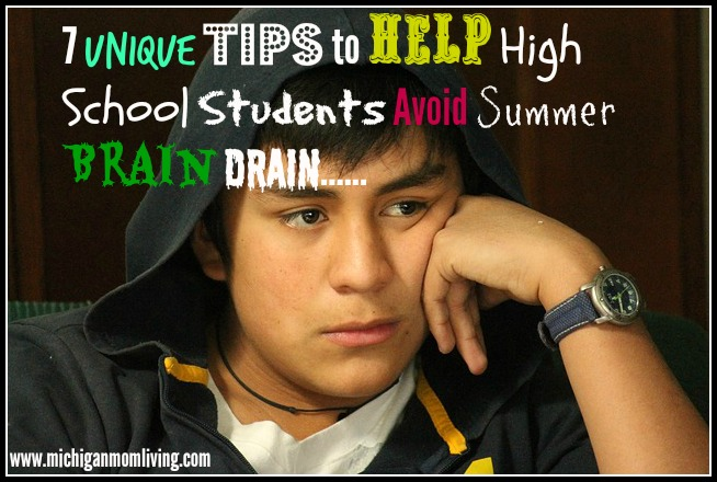 7 Unique Tips to Help High School Students Avoid Summer Brain Drain