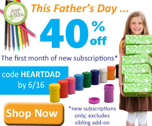 Green Crafts Kids Father's Day Sale 40% Off Ends 6/16