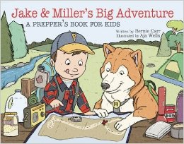 Jake & Miller's Big Adventure by Bernie Carr {Book Review and Giveaway}