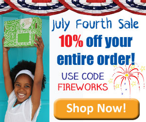 Green Craft Kids 4th of July Sale Ends 7/7
