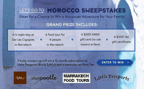 Take a World Staycation with Little Passports PLUS Morocco Sweepstakes