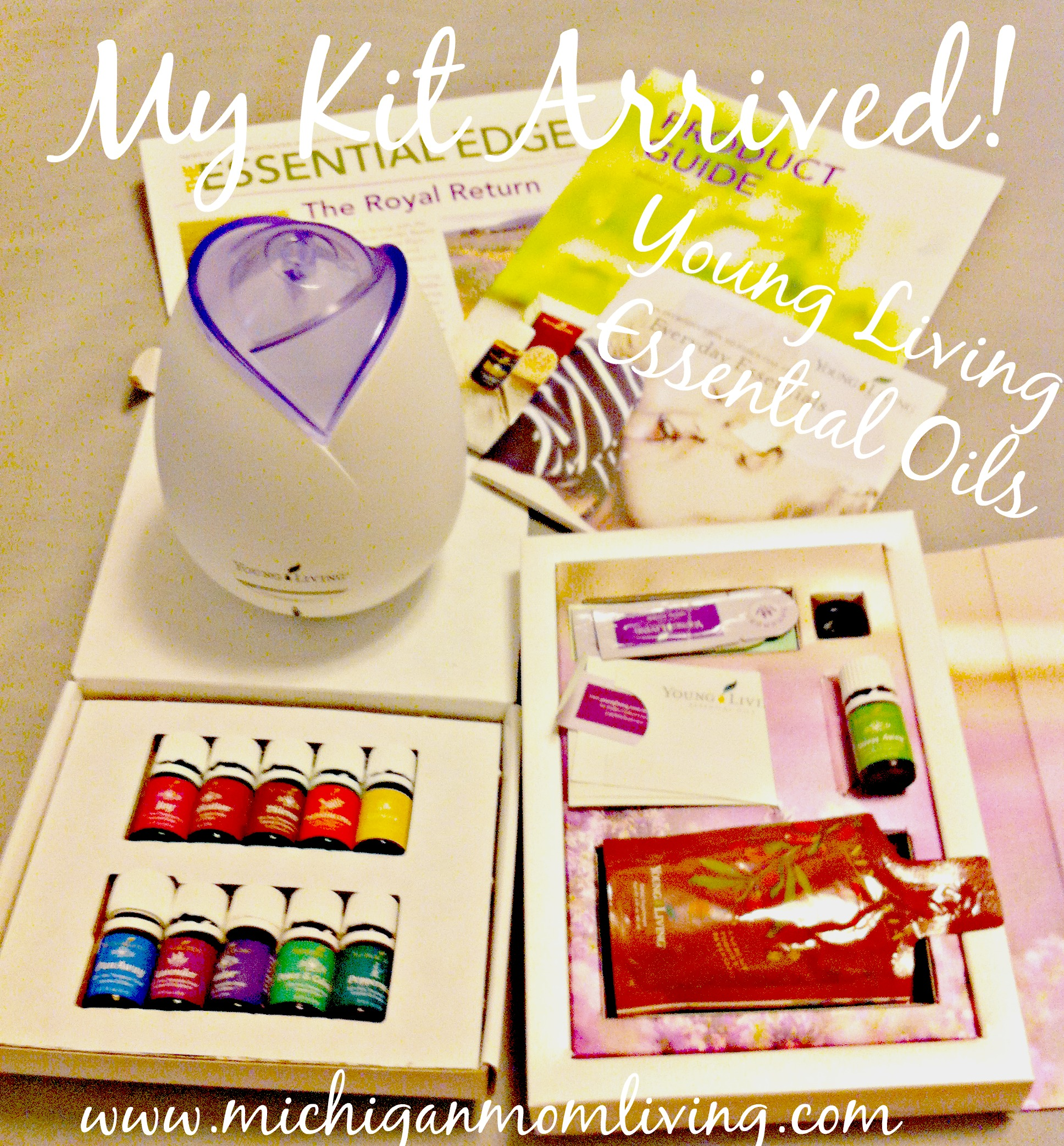 My #EssentialOils Kit is Here!