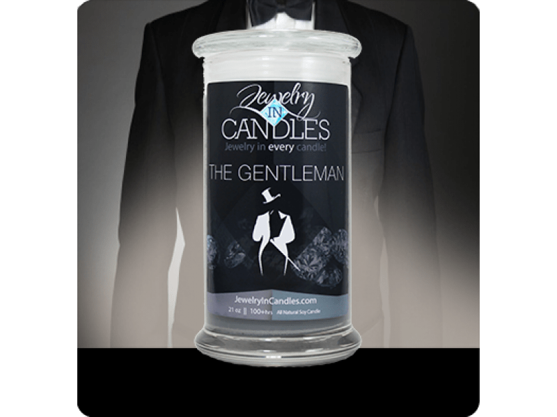 The Gentleman Candle™- Featuring Men's Jewelry