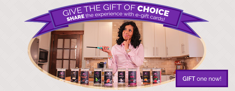 Surprise a Friend with a Jewelry in Candles #eGiftCard
